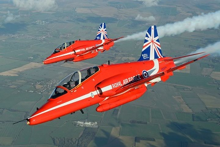 RAF Red Arrows to perform on both days at airX Malta International Airshow