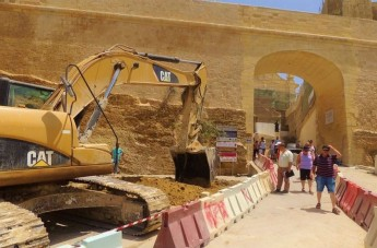 Gozo Ministry issues clarification of ongoing restoration works at the Cittadella
