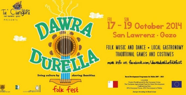 Dawra Durella Folk Fest: Living Culture by Sharing Identities at San Lawrenz