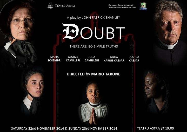 'Doubt' by John Patrick Shanley: There are no simple truths - Teatru Astra Gozo