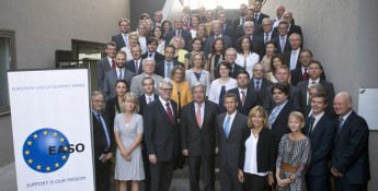 UN High Commissioner for Refugees, António Guterres visits EASO