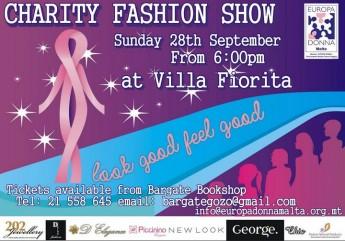 Look Good Feel Good: Europa Donna Malta charity fashion show in Gozo