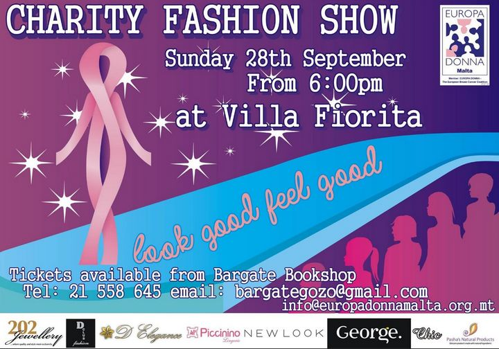 Europa Donna Malta charity fashion show in Gozo: 'Look Good Feel Good'