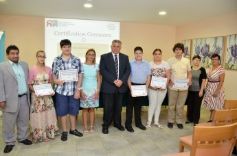 5 Gozitan students awarded certificates for completing FITA ICT courses