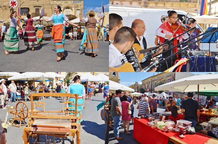 Weekend Festival of Gozitan traditional food held in Xaghra