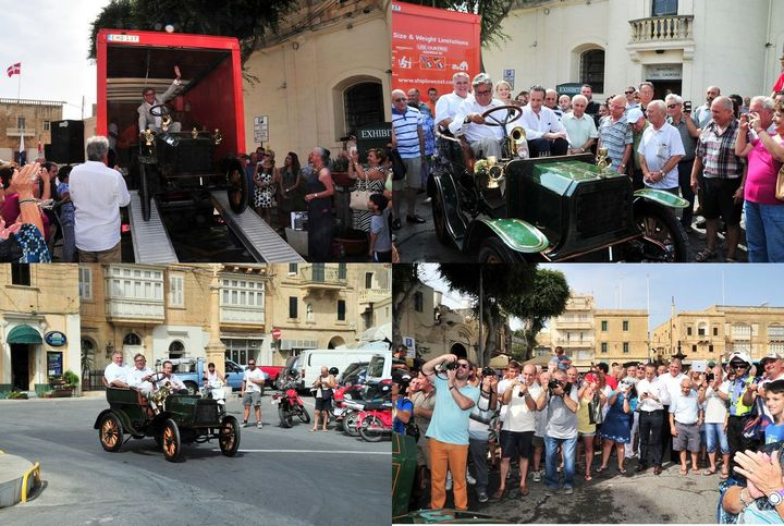 1904 Siddeley - Malta's first ever registered car unveiled in Gozo