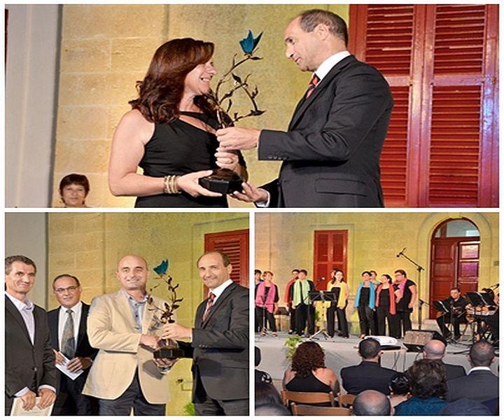 Bernardette Piscopo wins Gozo Hospital Worker of the Year 2013