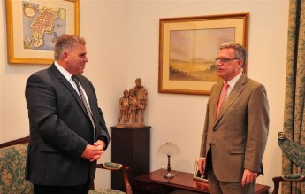 Minister for Gozo receives courtesy visit from the Spanish Ambassador