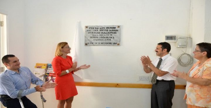 New KNPD office inaugurated at the Sannat School in Gozo