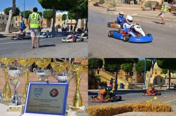 Charity Karting race held in Ghajnsielem in aid of Arka Foundation