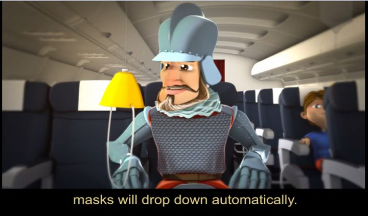 Knight stars in Air Malta's new animated in-flight safety video