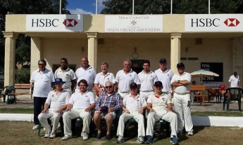 Ladymead CC visit Malta on third tour for weekend of cricket against Marsa
