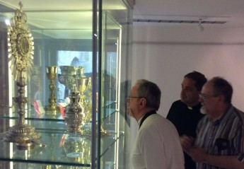 Loreto Archbishop visits Il-Hagar - Heart of Gozo museum in Victoria