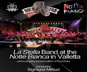 La Stella Band's RockAstra being performed at Notte Bianca