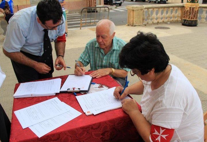 Order of Malta Volunteers in Gozo organ donation appeal
