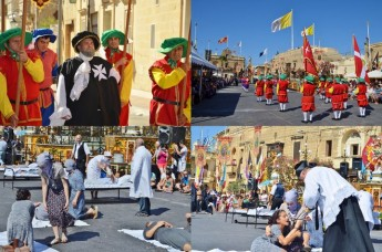 Commemoration of the two Great Sieges takes place in Xaghra