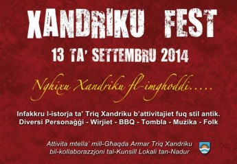 Xandriku fest – Nghixu Xandriku fl-Imghoddi: Historical journey in Nadur