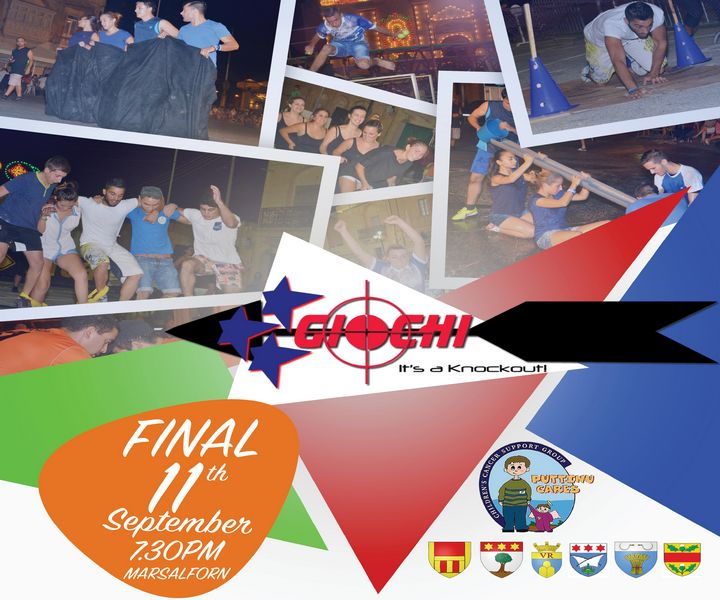 Giochi senza Frontiere – It's a Knockout! Final this Thursday in Marsalforn