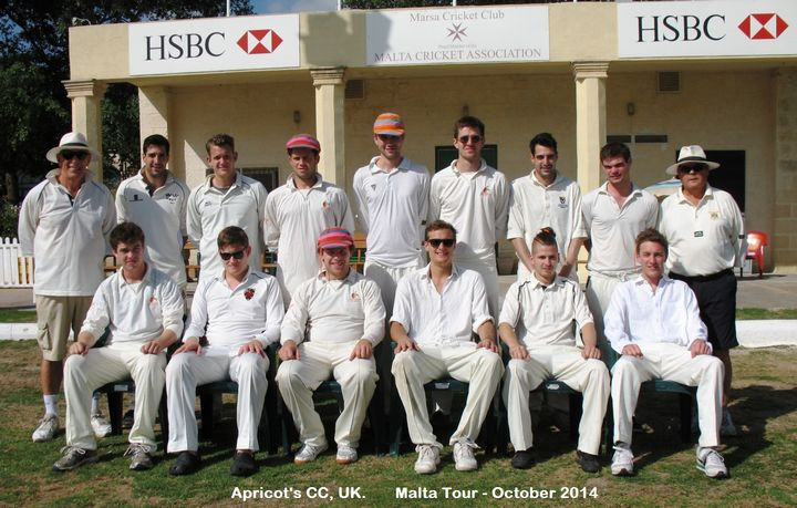 Marsa CC & Apricots CC play a three game series over the weekend