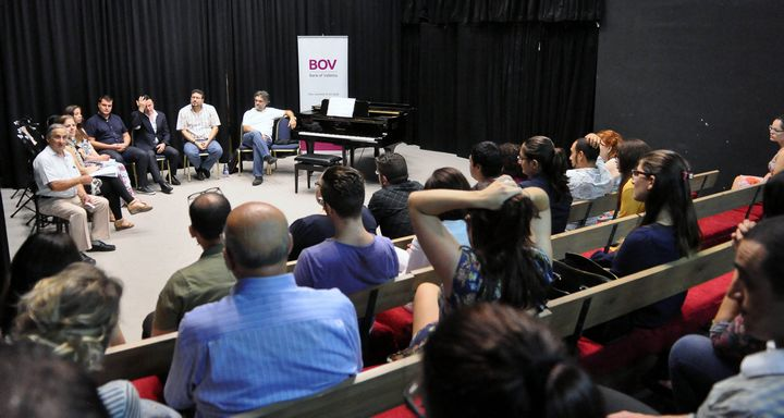 Behind the Opera Curtain: Opera workshop with Astra & Manoel Theatres
