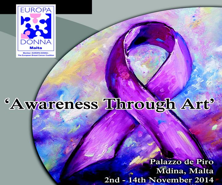 Awareness Through Art Exhibition with Europa Donna Malta