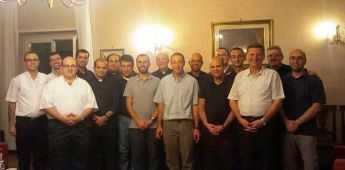 Gozo Bishop meets with Gozitan priests currently based in Rome