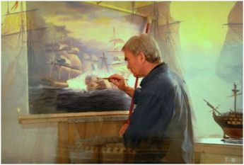 Exhibition of paintings by respected Marine Artist Thomas J. Burnell