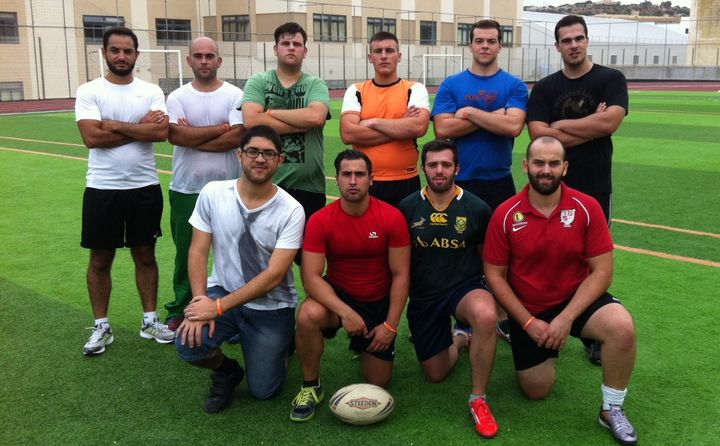 Gozo Rugby Club trains in the Boy's Secondary School for 'Move Week'
