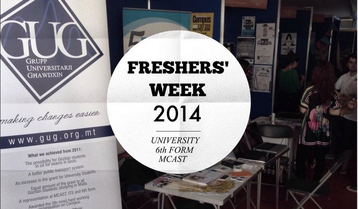 GUG welcomes students to Fresher's Week at the University of Malta
