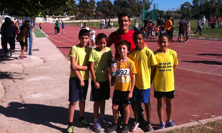 Gozo Greyhounds Sports Club team participate in Malta cross country race