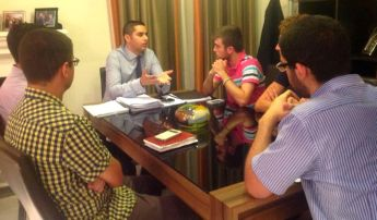 Gozo Youth Council meets with EU Parliamentary Secretary Dr Ian Borg