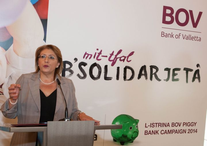 President launches the 11th Edition of L-Istrina BOV Piggy Bank Campaign