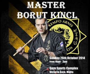 Kempo Arnis Federation Autumn training camp at the Gozo Sports Complex