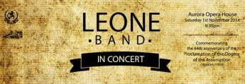 The Leone Band in Concert taking place at the Aurora Theatre in Gozo
