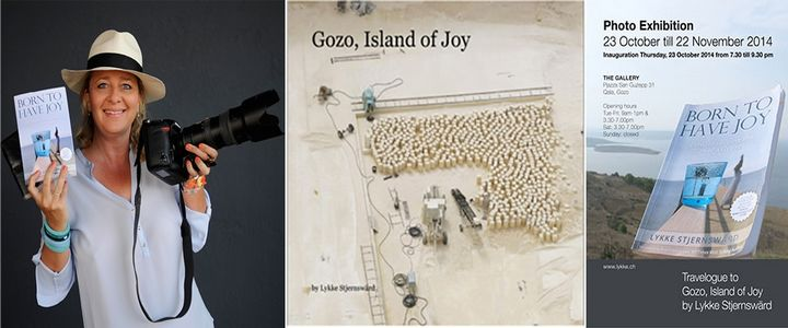 Gozo, Island of Joy: Lykke Stjernswärd's fine art photographic exhibition