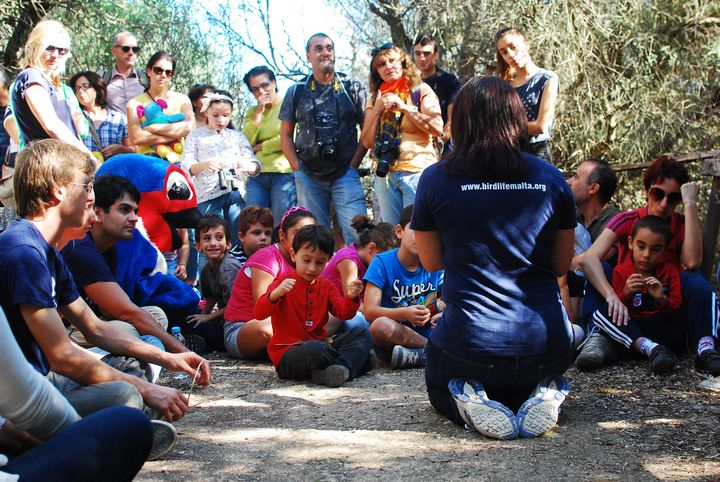 Reserves re-open and families enjoy getting closer to nature at Is-Simar