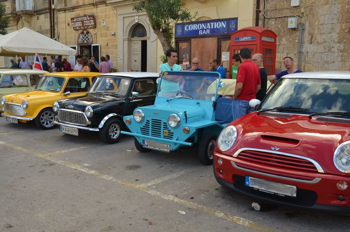 Exhibition held in Xaghra by the Malta Mini Owners Club