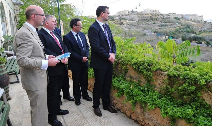 Gozo Minister visits site of the new Gozo home for the elderly
