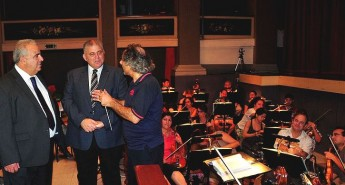 Gozo Minister visits final rehearsals and preparations for Il Trovatore