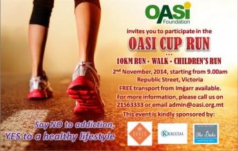 The OASI Foundation Cup Run: 10 Km Road Run, Fun Walk & Children's Run