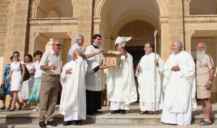 Capuchin friars celebrate the feast of St Francis of Assisi