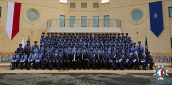 113 Police recruits graduate from the new Police Academy