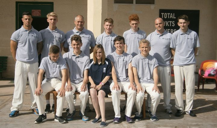 Pontefract New College CC from the UK take on Marsa in 2-game series