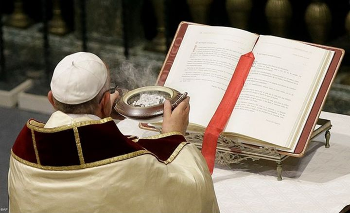 Pope Francis presides at the opening Mass for the Synod on the Family