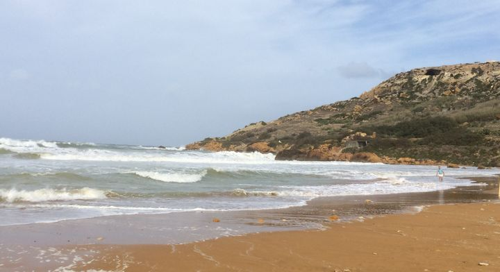 Off duty ERRC Lifeguards assist three swimmers in Ramla Bay, Gozo
