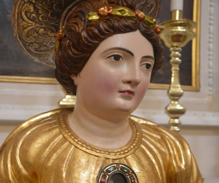 Feast of Saint Ursula - Patron Saint of Gozo, being celebrated on Sunday