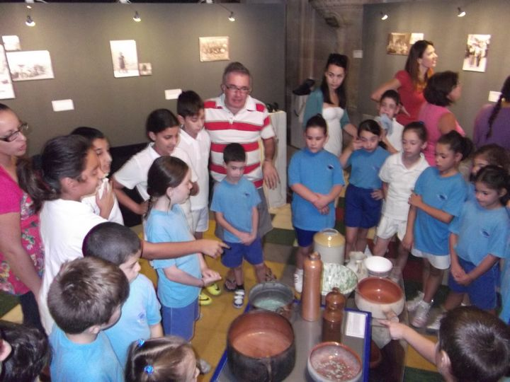 Gozo College San Lawrenz Primary visit Cangura Folk Group Exhibition