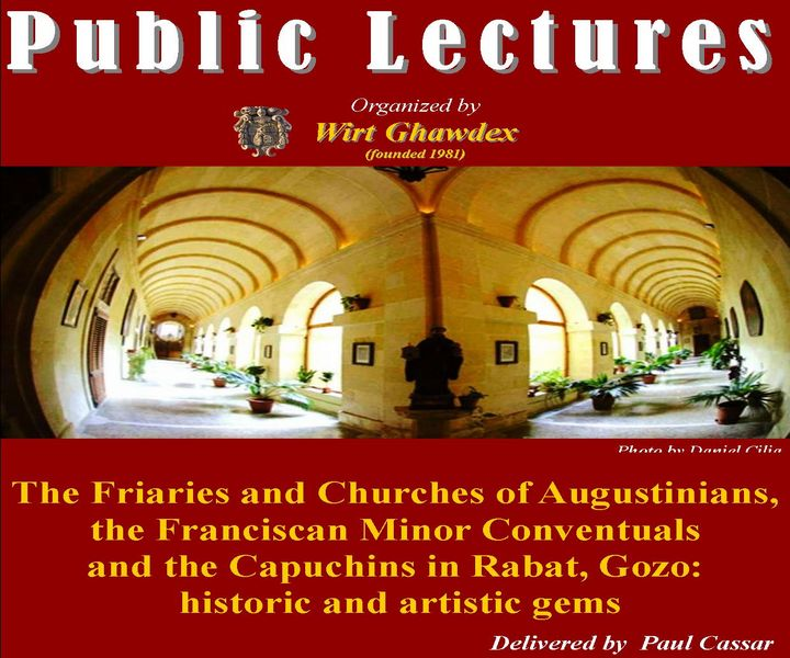 Lecture: Augustinians, the Franciscan Minor Conventuals & the Capuchins