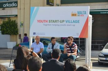 'Youth Start-up Village' held in Victoria as part of SME Week activities