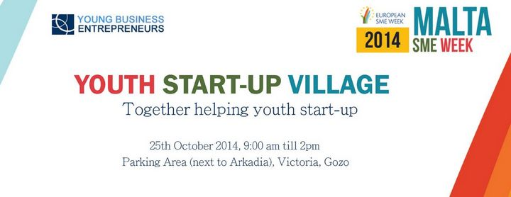 'Youth Start-up Village' taking place this Saturday in Victoria, Gozo